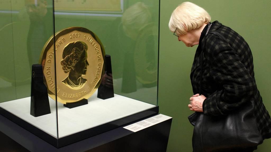 Münzen-Raub in Berlin