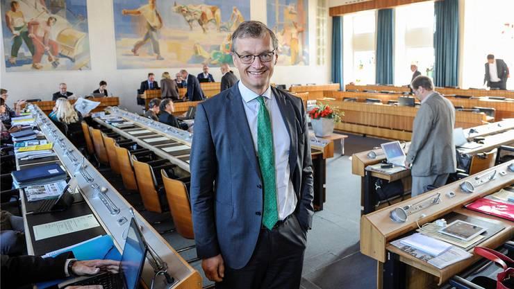 Heikle Doppelrolle: Klaus Kirchmayr beriet die Kantonalbank und beaufsichtigte diese als Landrat gleichzeitig. (Archivbild: 22. September 2016)