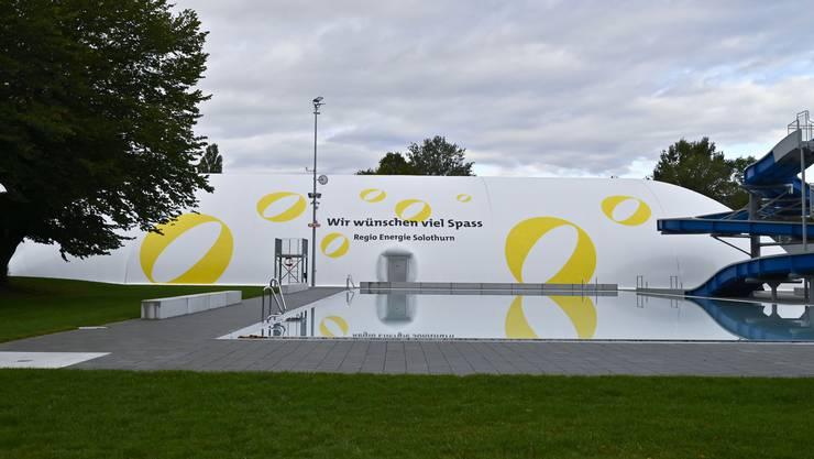 Einweihung der Traglufthalle im Sportzentrum Zuchwil am 28.September 2019