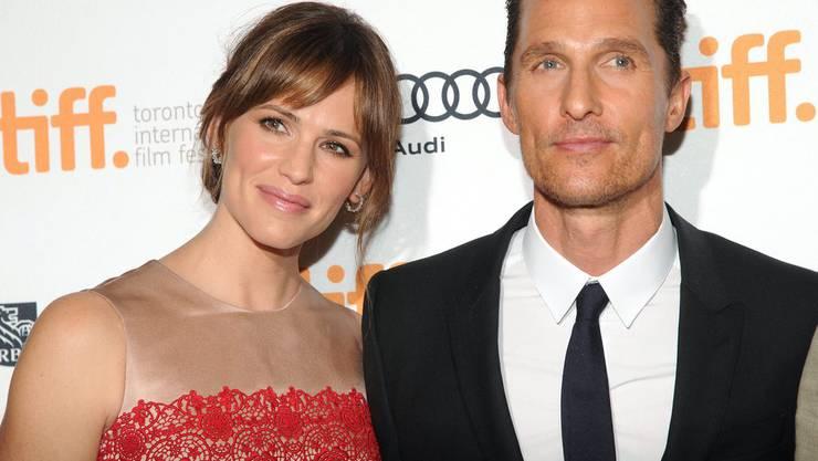 Matthew McConaughey mit Co-Star Jennifer Garner