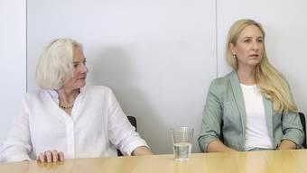 Zwischen Nadine Gautschi (FDP, links) und Katja Christ (GLP) herrscht in Bildungsfragen Einigkeit.