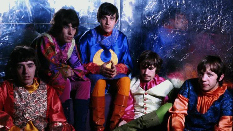 Procol Harum 1967 (v. l.): Dave Knights, BJ Wilson, Gary Brooker, Matthew Fisher, Robin Trower. Ihr erfolgreichster Song wurde im gleichen Jahr veröffentlicht.