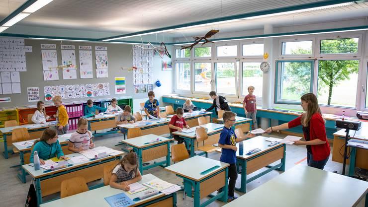 Die Grenchner Primarschule wächst wieder überdurchschnittlich. (Symbolbild)