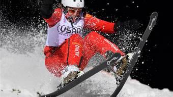 Skiakrobatin Tanja Schärer will in Sotschi ein Diplom erspringen.