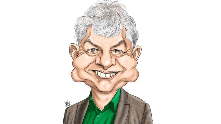 Karikatur von Felix Wettstein