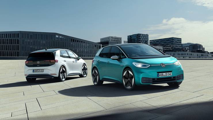 Eine der wichtigsten Neuheiten 2020: Der VW ID.3