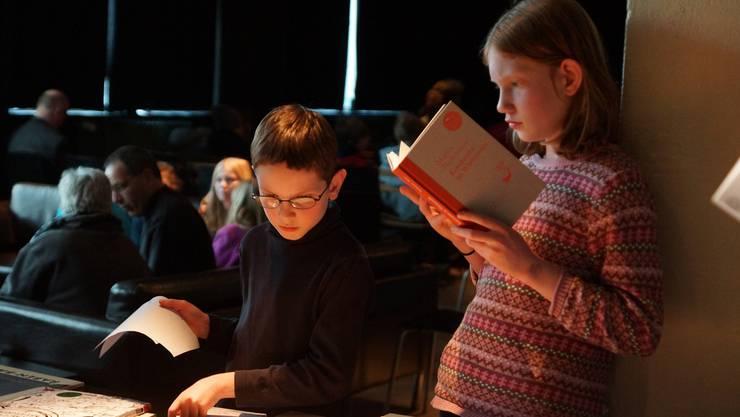 Am 2. Jugendliteraturtag in Baden kamen junge Leseratten voll auf ihre Kosten.