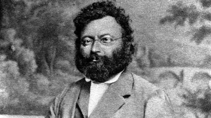 Naturforscher Amanz Gressly.