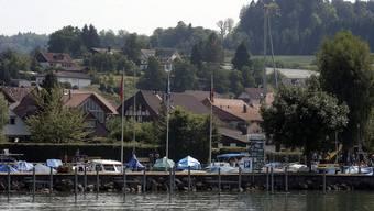 Der Hafen von Lüscherz