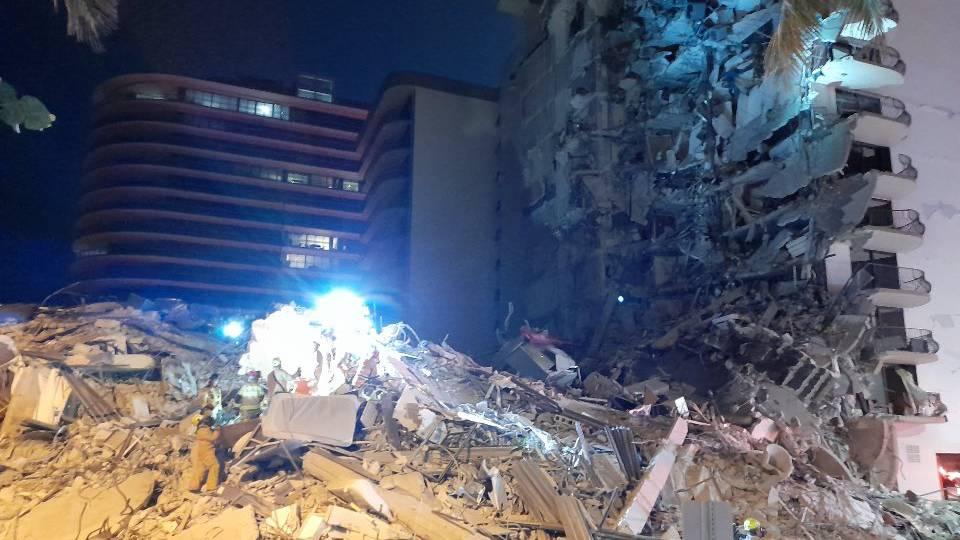 Hochhaus in Miami Beach eingestürzt – zahlreiche Opfer befürchtet