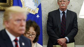 US-Präsident Donald Trump hat den nationalen Sicherheitsberater John Bolton entlassen. (Archivbild)