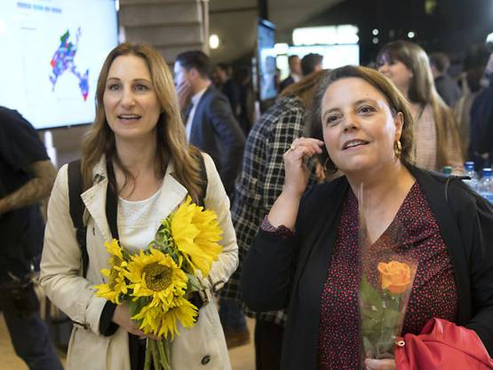 Kein Frauen-Doppelpack im Waadt-Stöckli: Adèle Thorens (links) und Ada Marra (SP)