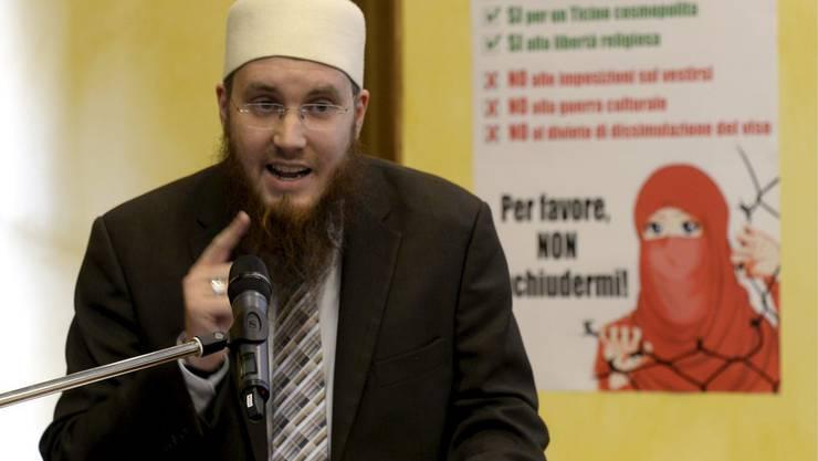 Nicolas Blancho, Präsident des Islamischen Zentralrats Schweiz.