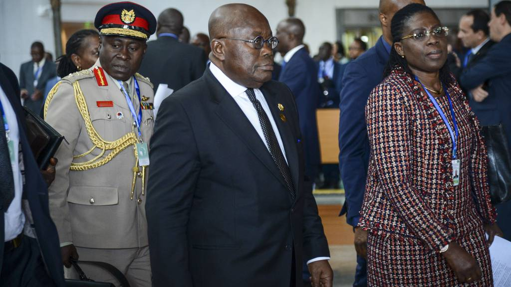 Ghanas Präsident besucht Schweiz