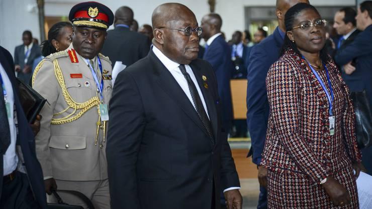 Der ghanaische Präsident Nana Akufo-Addo wird die Schweiz Ende Februar besuchen.
