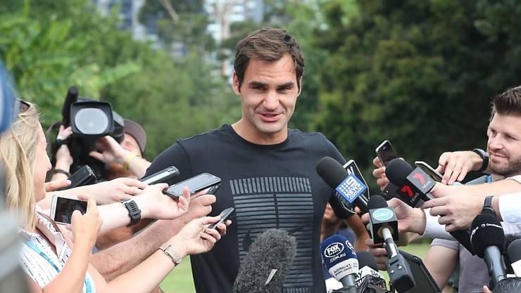 Die Medien verneigen sich vor Tennis-King Roger Federer