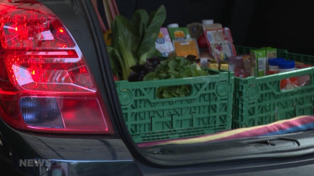 Erstes Gemüse-Drive-In in Bern