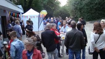 Lange Zeit war die Vollmondnacht im Rheinfelder Stadtpark ein gern besuchter Event, bei dem neben Geselligkeit auch die Musik nicht fehlen durfte.
