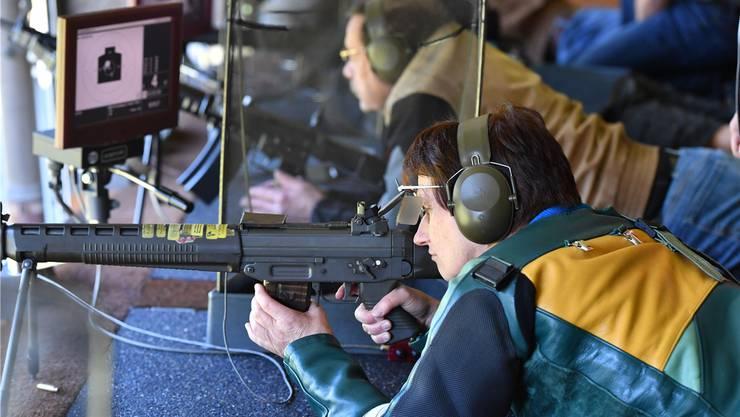 Im Bezirk Thal (Bild aus dem Schützenhaus in Balsthal) absolvierten fast 500 Schützinnen und Schützen das Eidgenössische Feldschiessen 2017.