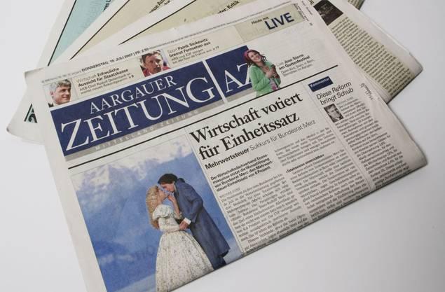 Bierpromotion ohne Alkohol - Die ganze Geschichte lesen Sie morgen in Ihrer Aargauer Zeitung (Regionalteil Aarau)