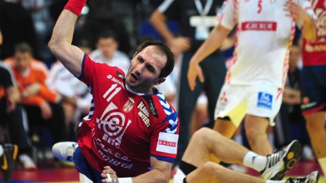 Serbien (Bild: Alem Toskic) setzt sich gegen Kroatien durch.
