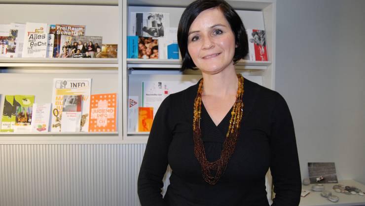 Engagiert: «Wir vertreten Anliegen von Familien in der Öffentlichkeit», sagt Beatrice Laube. Deborah Balmer