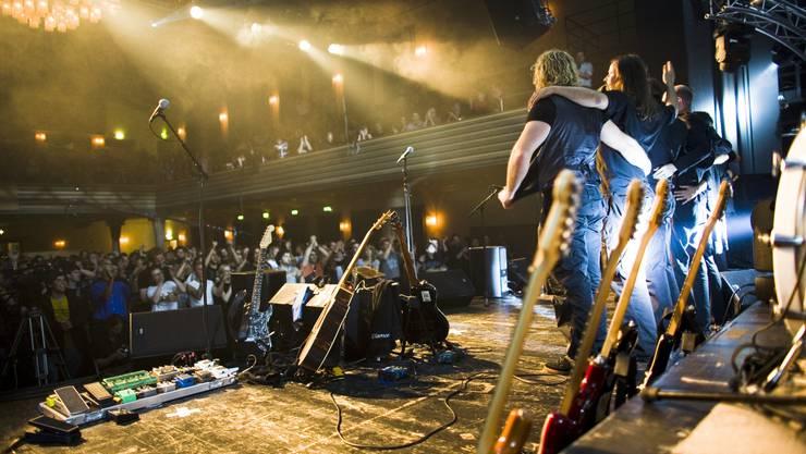 «Wer Crazy Diamond mit geschlossenen Augen lauscht, soll das Gefühl haben, Pink Floyd stehe auf der Bühne», sagt Urs Junger. Thomas Plain
