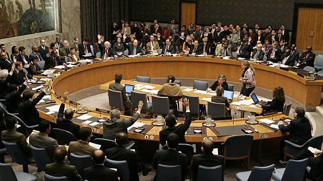 UNO-Sicherheitsrat in Aktion