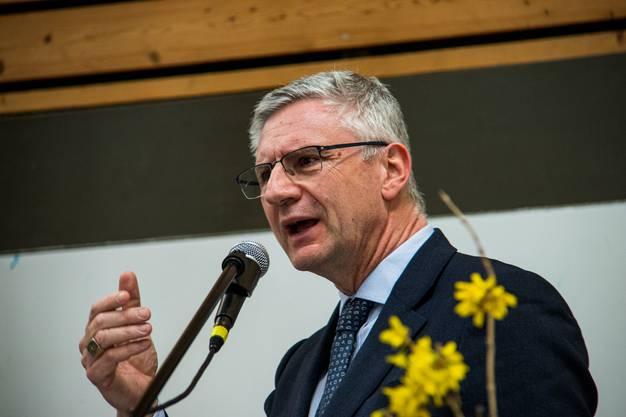 SVP-Nationalrat Andreas Glarner ist der engagierte Europakritiker.