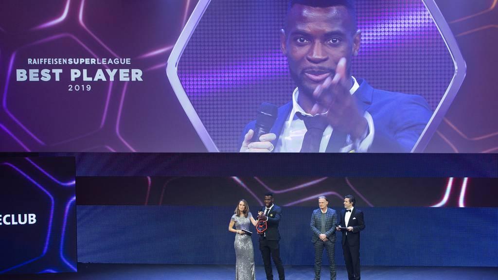 So sahen die SFL Awards 2019 aus. Dieses Jahr wird es keine Show mit Publikum geben. Konstant bleibt jedoch, dass Jean-Pierre Nsame wieder als Best Player nominiert ist.