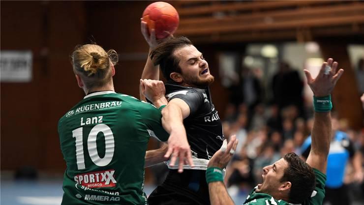 An Routine und an sich selbst gescheitert: STV Baden scheidet gegen Wacker Thun im Cup aus
