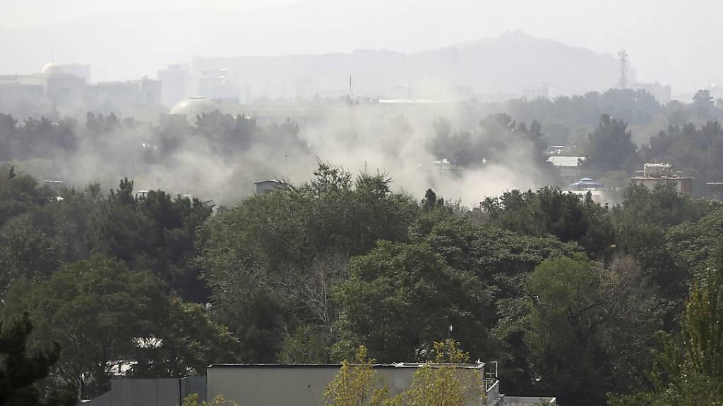 Raketenangriff in Kabul am Unabhängigkeitstag