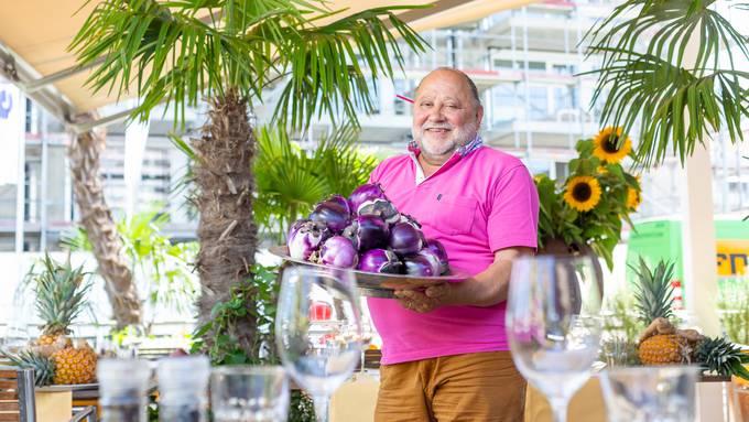 Den Kult-Gastwirt vom Restaurant Turm im Zürcher Niederdorf zieht es nach Schlieren. In seiner neuen Gaststätte Sabor setzt er auf aromatische Produkte wie diese Walliser Auberginen.