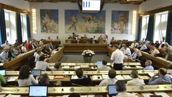 Nach rechts gerutscht: Im Baselbieter Landrat werden SVP und FDP künftig die Hälfte der 90 Sitze besetzen.