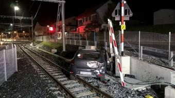 Auf den Bahngeleisen von Palézieux-Gare VD endete die Flucht des 19-Jährigen.