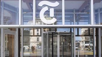 "Das Medienhaus ""Tamedia"" heisst künftig ""TX Group"". (Archivbild)"