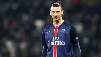 Musste in der Ligue 1 mit Paris Saint-Germain erstmals seit März 2015 wieder als Verlierer vom Platz: Zlatan Ibrahimovic