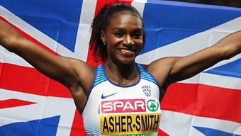 Wird im Letzigrund von den Afrikanerinnen gefordert: die dreifache Sprint-Europameisterin Dina Asher-Smith