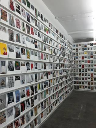 Philippe Cognée: 1100 kleine Gemälde Art Basel 2003-2013, Ausstellung in der Fondation Fernet-Branca