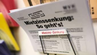 Mieter können ab Juni mit einer Senkung der Mietzinsen rechnen: Der Referenzzinssatz ist so tief wie noch nie.