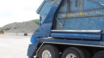 Ausbauprojekt gestoppt: Wiederkehr Recycling AG in Waltenschwil.