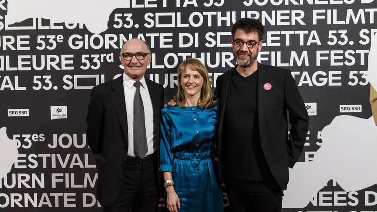 Felix Gutzwiller, Seraina Rohrer, Fernand Melgar