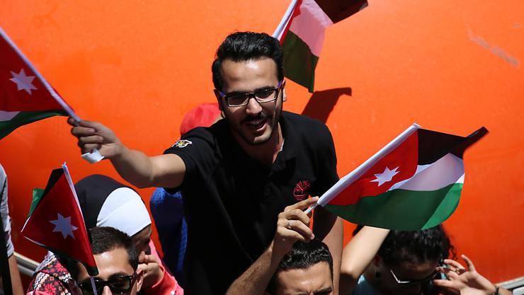 Jordanien braucht dringend Geld: Eine geplante Steuererhöhung löste vergangene Woche massive Strassenproteste aus. (Archivbild)