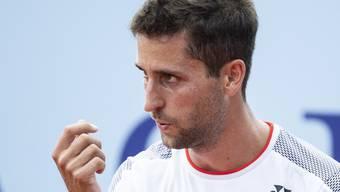 Sandro Ehrat ist gegen die Slowakei als erster Schweizer gefordert