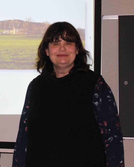 Judith Bélat anlässlich ihres Referates im Eusebiushof.