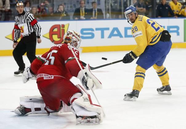 Der 27-jährige schwedische Flügel wechselte von MODO Hockey zum HC Davos.