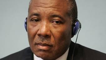 Liberias Ex-Präsident Charles Taylor (Archiv)