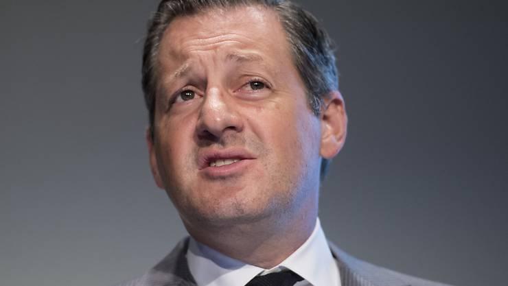 Nicht der Finanzplatz Schweiz, sondern Frankfurt und Luxemburg dürften vom Brexit profitieren, glaubt Boris Collardi, Präsident der Vereinigung Schweizerischer Assetmanagement- und Vermögensverwaltungsbanken. (Archiv)