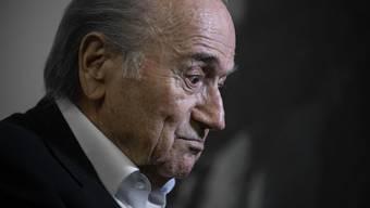 Der ehemalige FIFA-Präsident Sepp Blatter