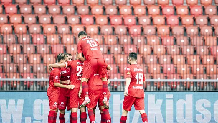 Der FC Winterthur spielte zuletzt gross auf und feierte in den letzten sieben Spielen sechs Siege